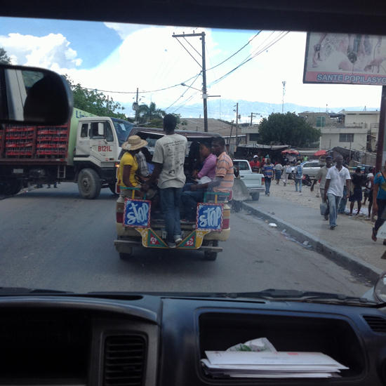 Transportation in Port au Prince