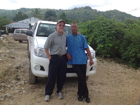 Fr. Gary and Pe Josue