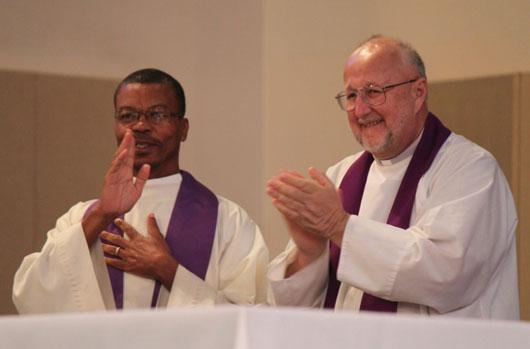 Pe Josue and Fr. Frank