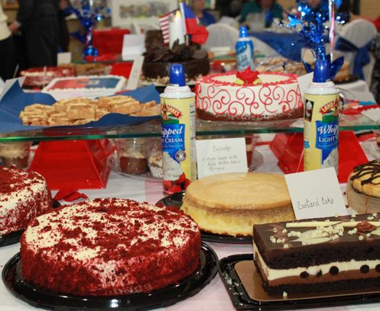 cakes Haiti dinner 2013