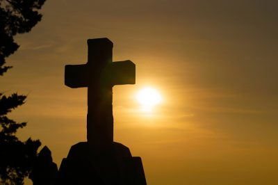 The Cross at sunrise