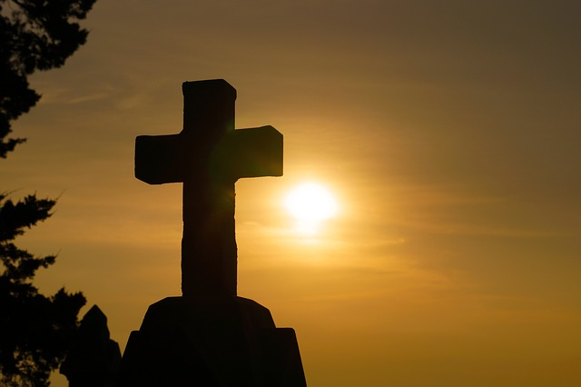 The Cross at sunrise