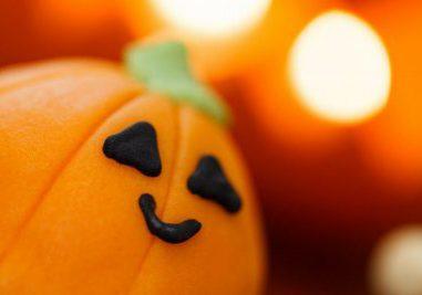 smiling pumpkin candy